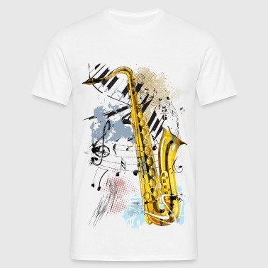 Magic Saxophone - Men's T-Shirt
