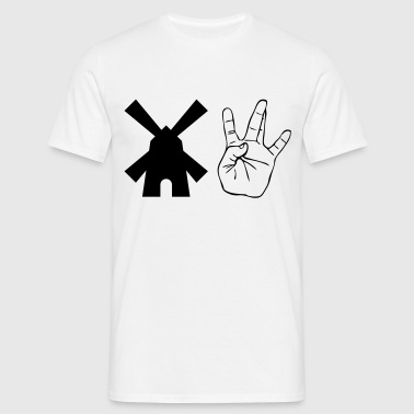 Windmill Westside Hand - Men's T-Shirt