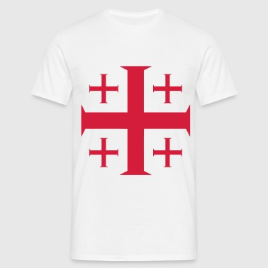 templar cross - T-shirt Homme