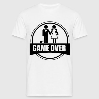 Game over - Stag do - Hen party - Funny - Männer T-Shirt