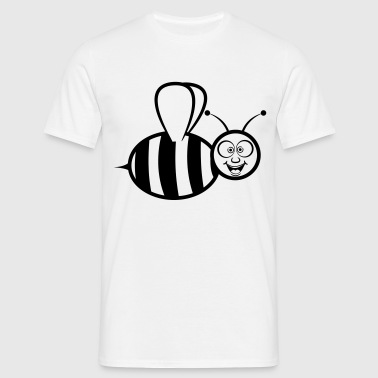 bee funny - Men's T-Shirt