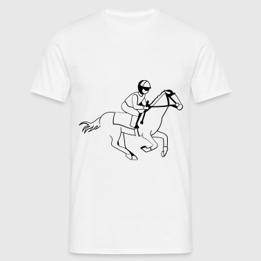 Jockey - Horse Racing - Men's T-Shirt