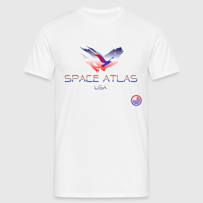 Space Atlas Tee USA - Men's T-Shirt