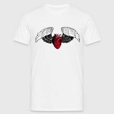 Flying heart - Men's T-Shirt