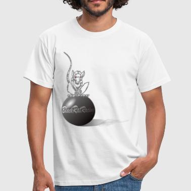 Black Rat Racing Sphere - Men's T-Shirt