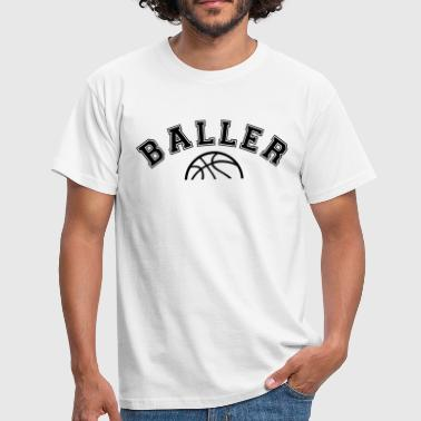 Basketball - Baller College Style - Men's T-Shirt
