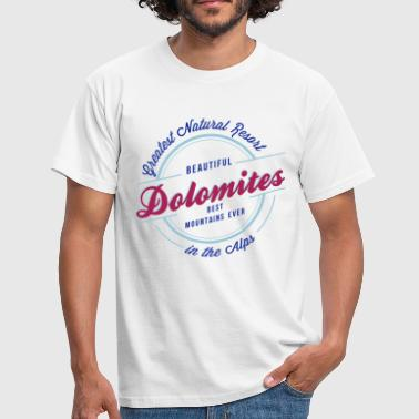 DOLOMITES - Men's T-Shirt