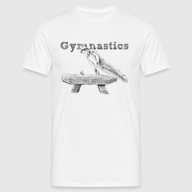 gymnastics - Men's T-Shirt