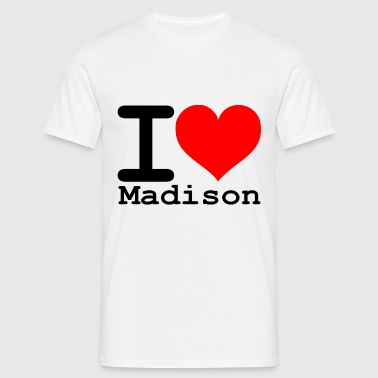 J'adore Madison - T-shirt Homme