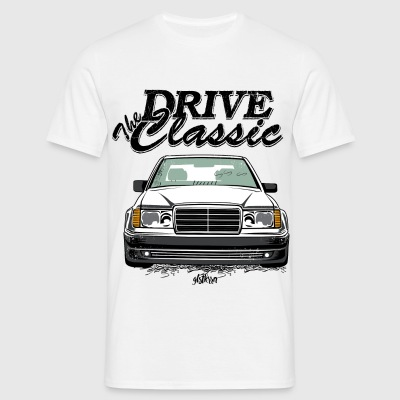 Benz W124 Drive the Classic - Männer T-Shirt