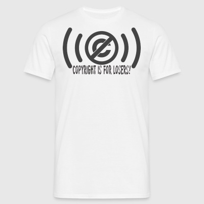 copyrighisforlosers - T-shirt Homme