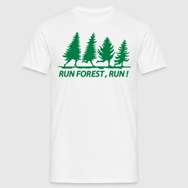 run forest,run ! - Männer T-Shirt