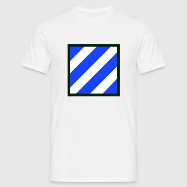 3rd_Infantry_division - Herre-T-shirt