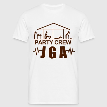JGA,Junggesellenabschied,Bachelor,Security,Party, - Männer T-Shirt