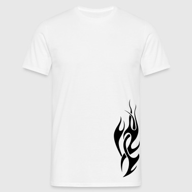tribal flame - T-shirt Homme