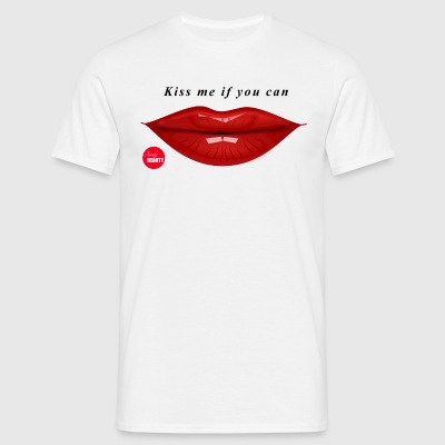 Kiss Me If You Can - Maglietta da uomo