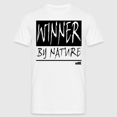 WINNER BY NATURE - Männer T-Shirt