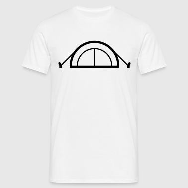 Tent Icon - Men's T-Shirt