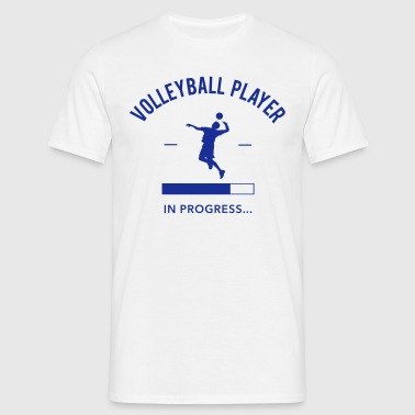 Volleyball Player loading - Men's T-Shirt