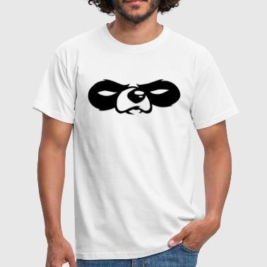 panda eyes - Men's T-Shirt