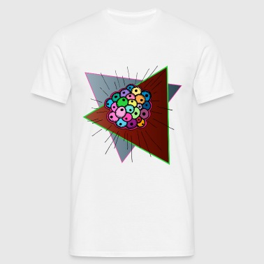 Psychedelic Fisheggs - T-shirt herr