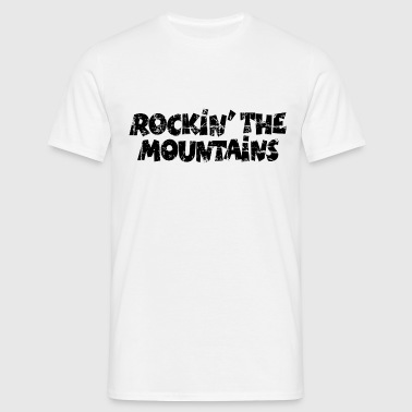 Rockin the Mountains Vintage Black - Men's T-Shirt