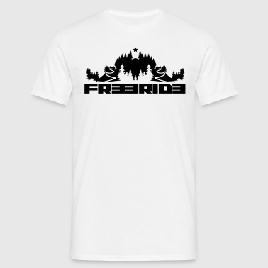 MTB Freeride - Men's T-Shirt