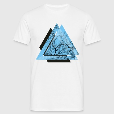 AD Triangle Black - Men's T-Shirt