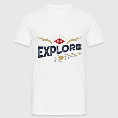 Outdoor explore - T-shirt Homme