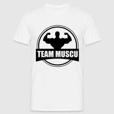 Team muscu , musculation  - T-shirt Homme