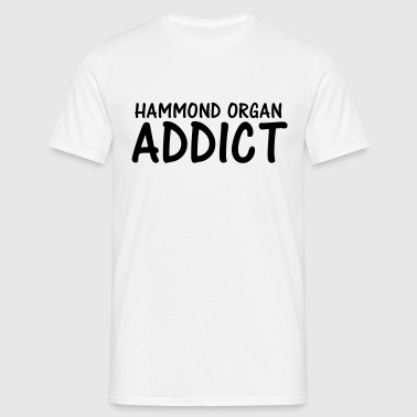 hammond organ addict - Men's T-Shirt