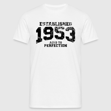 established 1953 - aged to perfection(uk) - Men's T-Shirt