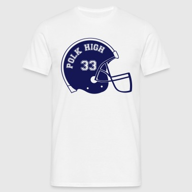POLK HIGH Footballhelm - Männer T-Shirt