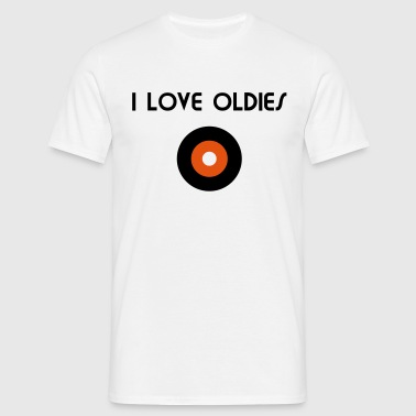 I Love Oldies - V2 - Männer T-Shirt