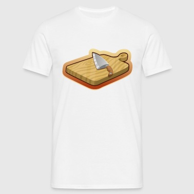 cutting board - Men's T-Shirt