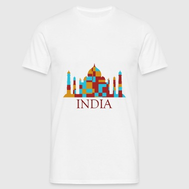 taj mahal - Men's T-Shirt