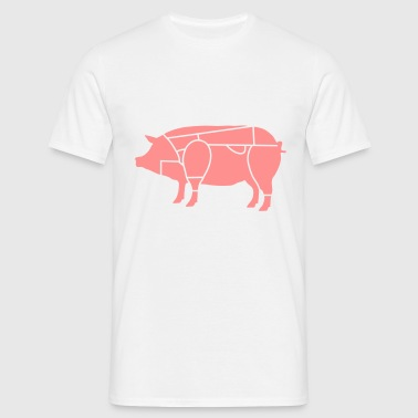 pork butcher_b1 - Men's T-Shirt