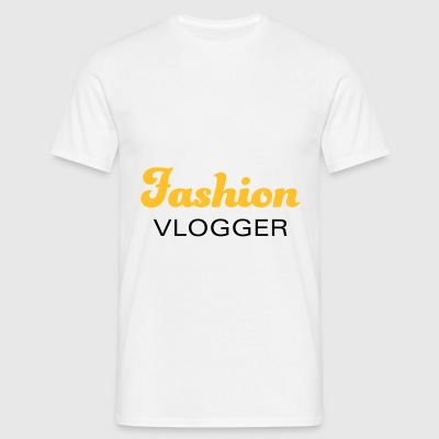 Fashion Vlogger voor modebewuste ondernemers - Mannen T-shirt