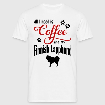 Finnish Lapphound Coffee - Men's T-Shirt