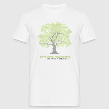 nature backup - T-shirt Homme