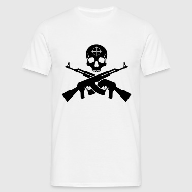 Skull AK47 - Men's T-Shirt