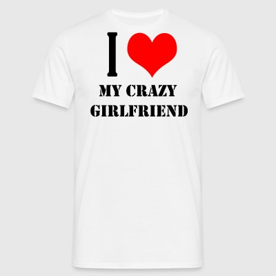 Love girlfriend - Men's T-Shirt