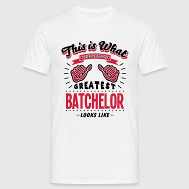 batchelor worlds greatest looks like - Men's T-Shirt