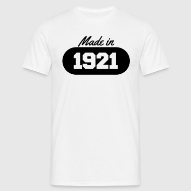 Made in 1921 - Men's T-Shirt