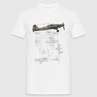 IL - 2 - Men's T-Shirt