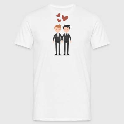 Gay Couple Love Gay couples - Men's T-Shirt