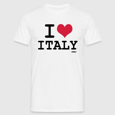 i love italy by wam - Men's T-Shirt