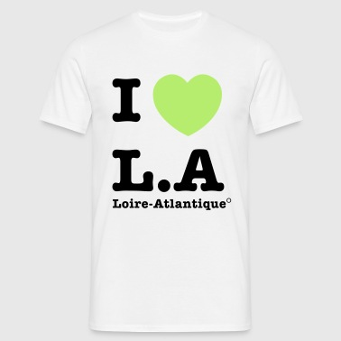 I love L.A - T-shirt Homme