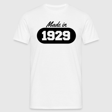 Made in 1929 - Men's T-Shirt