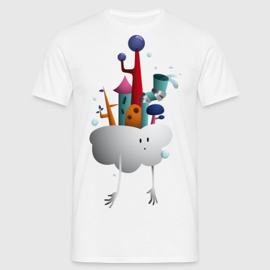 Cloud Village - Men's T-Shirt